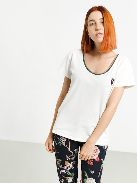 Femi Stories Nasee T-shirt Wmn (ecr)