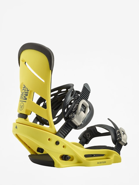 Burton Mission Est Snowboard bindings (grellow)