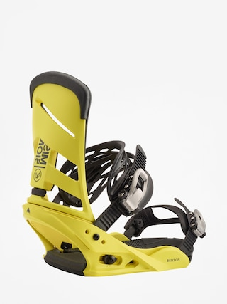 Burton Mission Snowboard bindings (grellow)