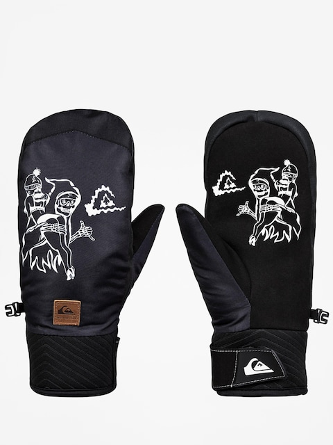 Quiksilver Method Mitt Gloves (black)