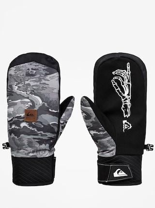 Quiksilver Method Mitt Gloves (black snowscene)