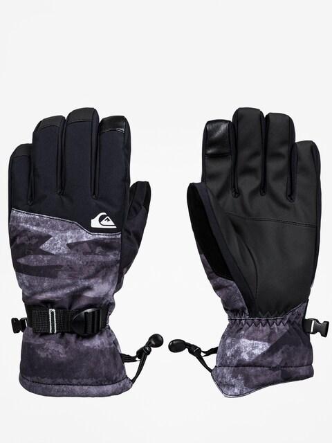Quiksilver Mission Glove Gloves (black mat paint)