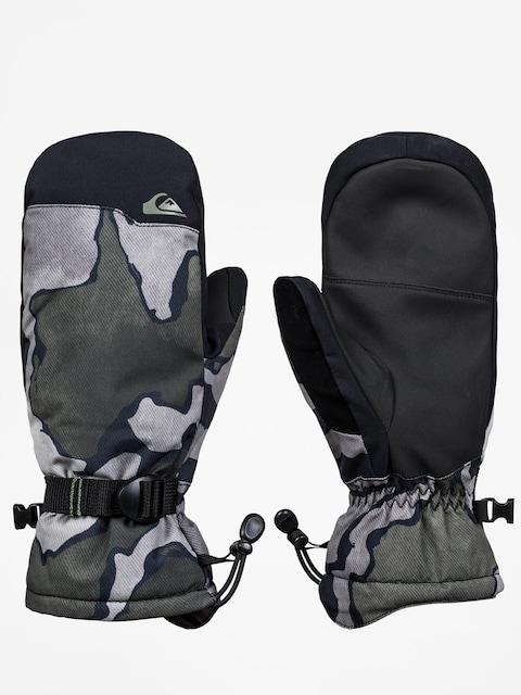 Quiksilver Mission Mitt Gloves (black sir edwards)