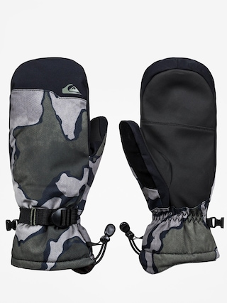 Quiksilver Mission Mitt Gloves (black sir edwards)