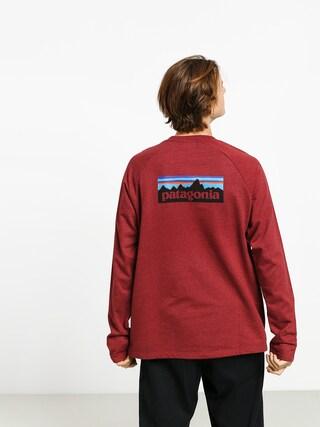 Patagonia Logo Lw Sweatshirt (oxide red)