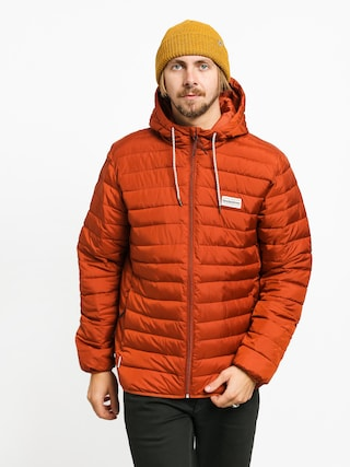 Quiksilver Scaly Hood Jacket (burnt brick)