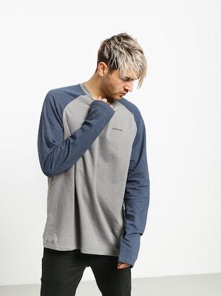 Patagonia Logo Lw Sweatshirt (feather grey w/dolomite blue)