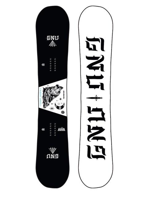 Gnu Asym Riders Choice C2X Snowboard (wolf/white)