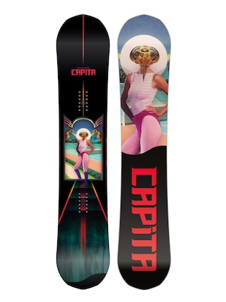 Capita The Outsiders Snowboard (multi 3/black/red)