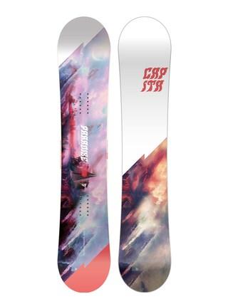 Capita Paradise Snowboard Wmn (white/black/red)