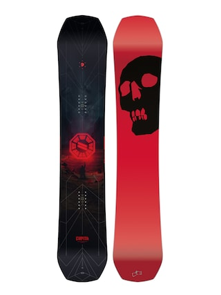 Capita The Black Snowboard Of Death Snowboard (red/black)