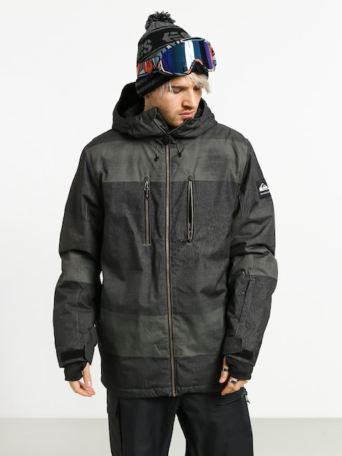 Quiksilver Silvertip Snowboard jacket (grapeleaf septine)