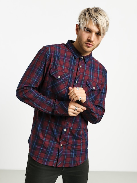 Iriedaily Mc Valle Shirt (navy red)