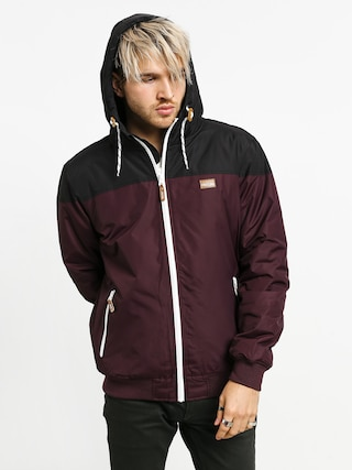 Iriedaily Insulaner Jacket (red wine)
