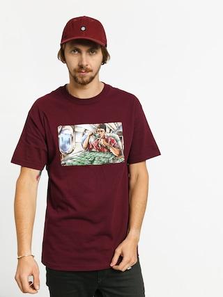 DGK Talkin T-shirt (burgundy)