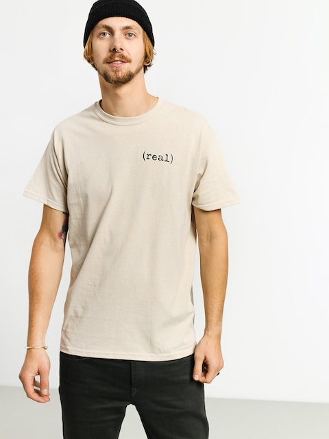 Real Lower T-shirt (beige)