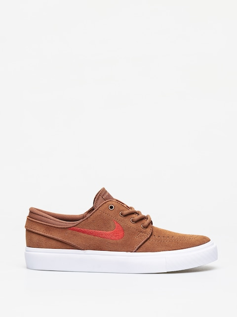 Nike SB Stefan Janoski Suede Shoes (lt british tan/mystic red white)