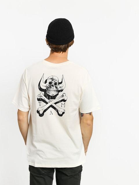 Toy Machine Skull X Bones T-shirt (white)