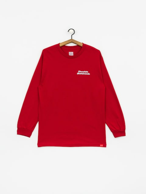 Chocolate Day Off Longsleeve (red)