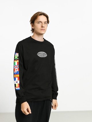 HUF World Tour Longsleeve (black)