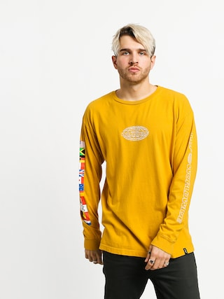 HUF World Tour Longsleeve (sauterne)