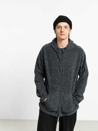 Quiksilver Frosted Fire HD Hoodie (iron gate)