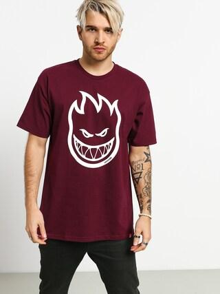 Spitfire Big Head T-shirt (burgundy)