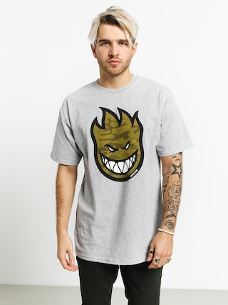 Spitfire Big Head Fill T-shirt (athletic heather/camo)