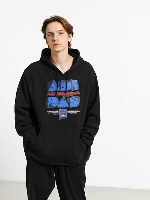 adidas Toolkit HD Hoodie (black/blue/scarlet)
