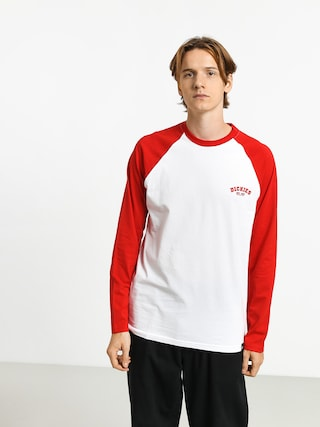 Dickies Baseball Longsleeve (fiery red)