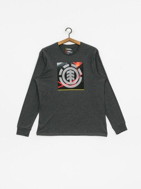 Element Surge Icon Longsleeve (charcoal heathe)