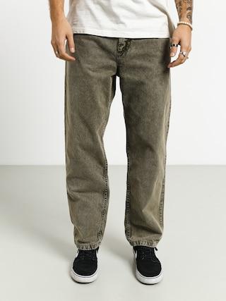 Polar Skate 93 Denim Pants (army green)