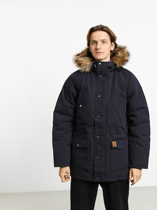 Carhartt WIP Trapper Parka Jacket (dark navy/black)
