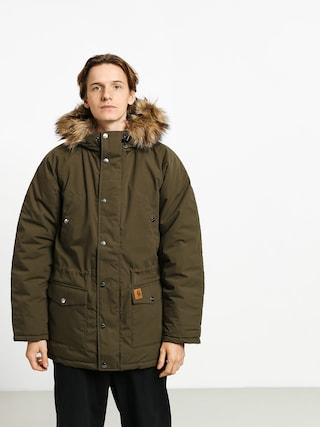 Carhartt WIP Trapper Parka Jacket (cypress/black)