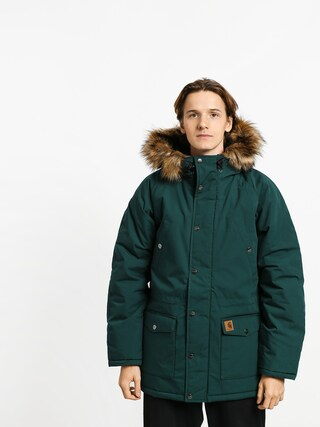 Carhartt WIP Trapper Parka Jacket (dark fir/black)