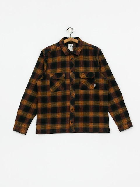 Element Wentworth Shadow Ls Shirt (gold brown)