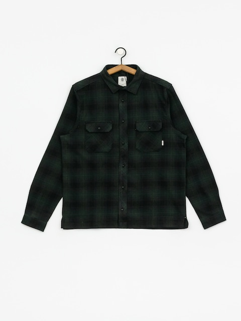Element Wentworth Shadow Ls Shirt (olive drab)