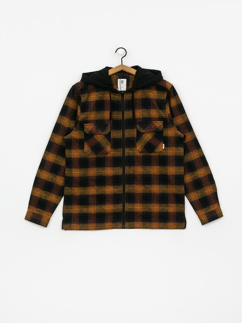 Element Wentworth Shadow HD Shirt (gold brown)