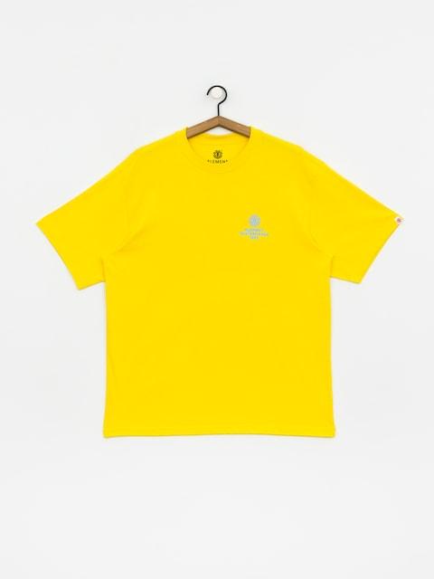 Element Chrome T-shirt (bright yellow)