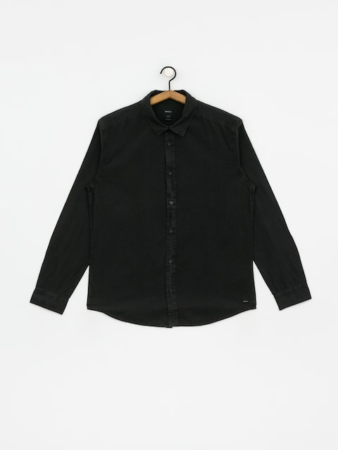 RVCA Crushed Ls Shirt (pirate black)