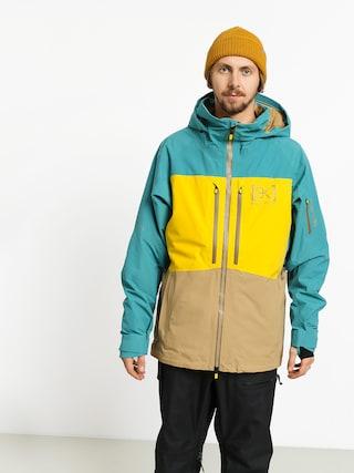 Burton Ak Gore Swash Snowboard jacket (gbslat/maize/kelp)