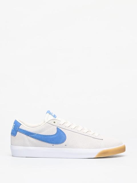 Nike SB Blazer Low Gt Shoes (pale ivory/pacific blue white)