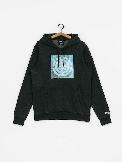 Element Solvent Icon HD Hoodie (charcoal heathe)
