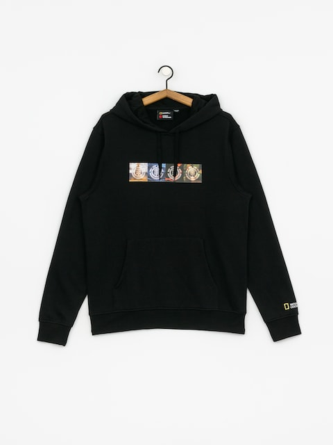 Element Horizontal Seasons HD Hoodie (flint black)