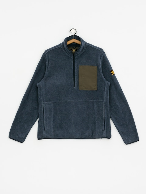 Element Windrift Qtr Zip Sweatshirt (eclipse nav hea)