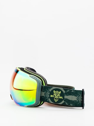 Anon M2 W Spare Goggles (deermtn/sonar green)