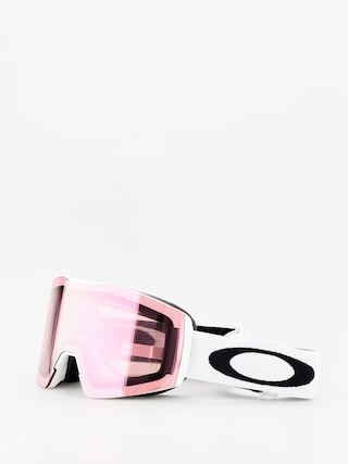 Oakley Fall Line Xm Goggles (white/prizm snow hi pink iridium)