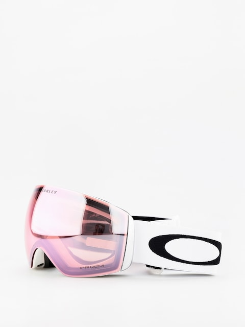 Oakley Flight Deck Goggles (matte white/prizm hi pink iridium)