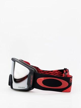 Oakley Line Miner Goggles (harlaut sig shredbot red black/prizm snow black iridium)