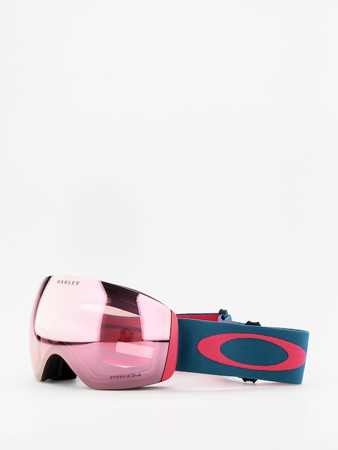 Oakley Flight Deck Goggles (blue/prizm snow hi pink iridium)